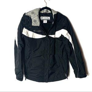 Columbia Sportswear Medium Black & White Warm Coat